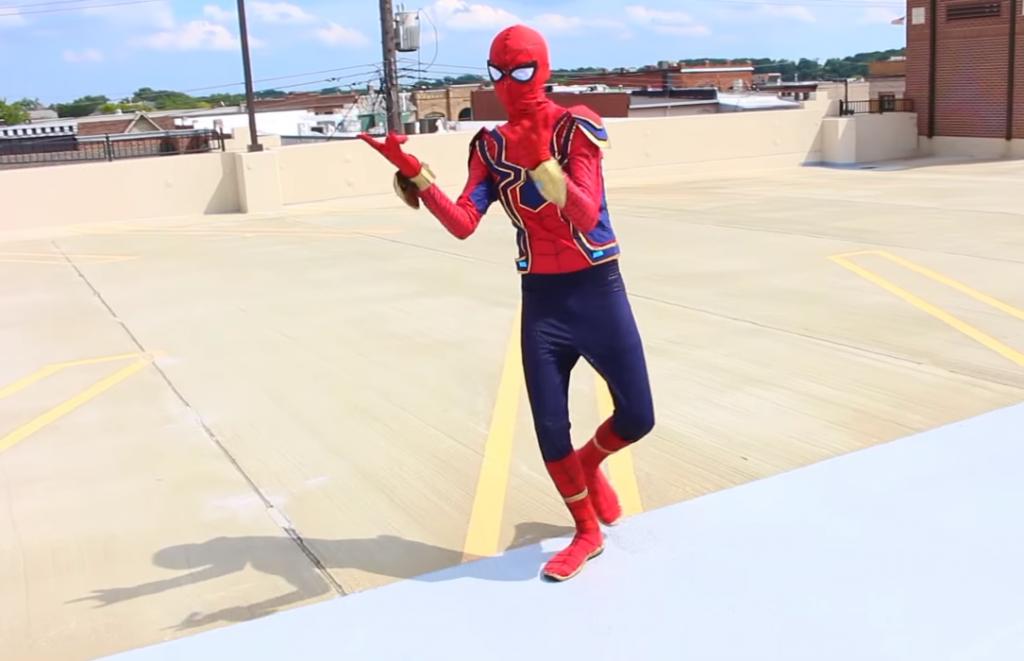 realistic Spiderman costume