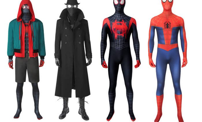 Spider-man Miles Morales Cosplay Costumes